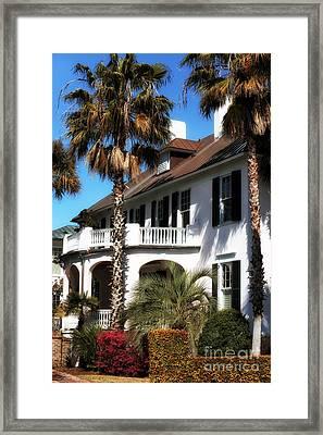 Charleston Living Framed Print by John Rizzuto