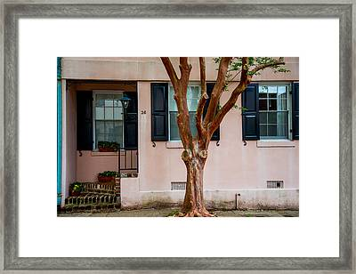 Charleston Charm Framed Print