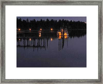 Charleston Nights Framed Print