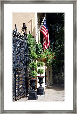 Charleston Patriot Framed Print by Skip Willits