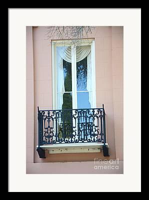 French Quarter Window Framed Prints