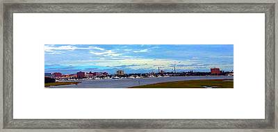 Framed Print featuring the photograph Charleston Sc City View by Joetta Beauford