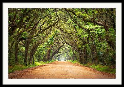 Dirt Roads Framed Prints