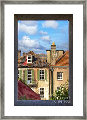 Charleston Singles Out My Window Framed Print by Dustin K Ryan