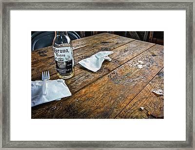 Charleston South Carolina - Bowens Island  Framed Print