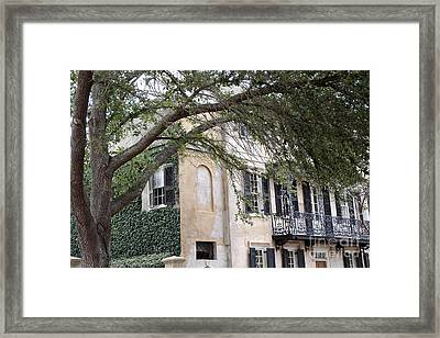 Charleston South Carolina Historic Victorian Homes Framed Print