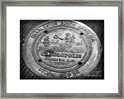 Charleston South Carolina Framed Print by John Rizzuto