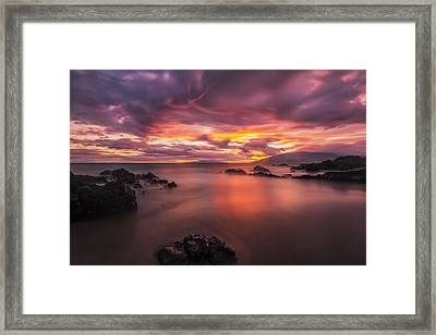 Framed Print featuring the photograph Charley Youngs Beach by Hawaii  Fine Art Photography