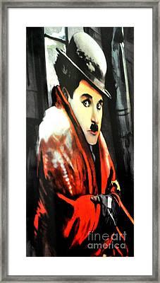 Charlie Chaplan The Gold Rush Framed Print