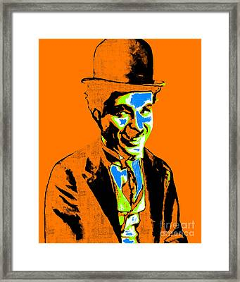 Charlie Chaplin 20130212p28 Framed Print by Wingsdomain Art and Photography
