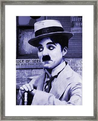 Charlie Chaplin Framed Print