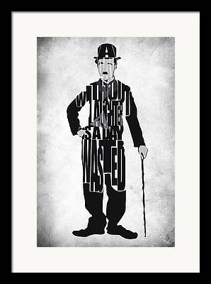 Chaplin Framed Prints