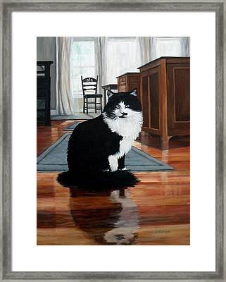 Charlie Framed Print by Eileen Patten Oliver