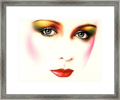 Charlie Girl Framed Print by Andrew Farley