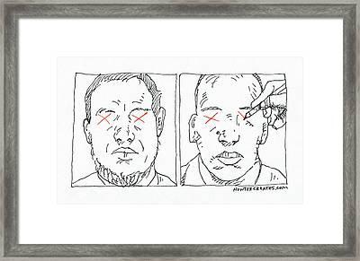 Charlie Hebdo Justice Framed Print by Steve Hunter