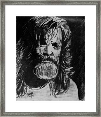Charlie Framed Print by Jeremy Moore