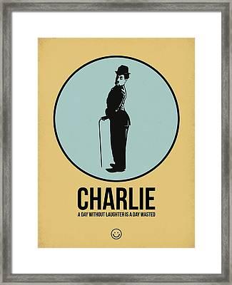Charlie Poster 2 Framed Print by Naxart Studio