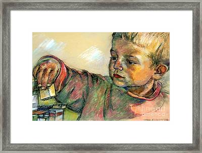 Charlie Framed Print by Stan Esson
