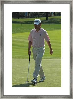 Charlie Wi Framed Print by Greg Short