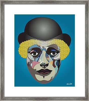 Charlie's Clown  Framed Print