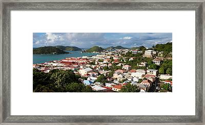 Charlotte Amalie Framed Print by Susan  Degginger