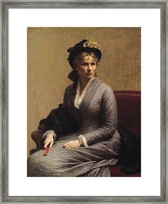 Charlotte Dubourg  Framed Print