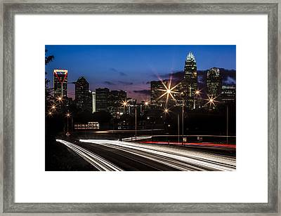 Charlotte Flow Framed Print by Chris Austin