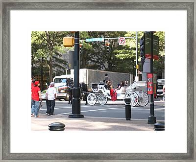 Charlotte Nc - 01131 Framed Print