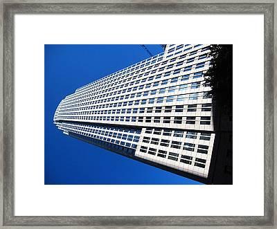 Charlotte Nc - 01135 Framed Print