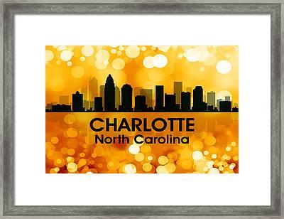 Charlotte Nc 3 Framed Print by Angelina Vick