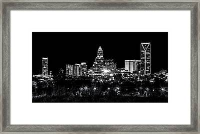 Charlotte Night Framed Print by Chris Austin
