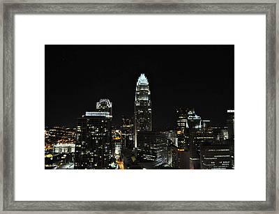 Charlotte Night Cnp Framed Print by Jim Brage
