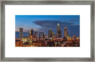 Charlotte North Carolina Framed Print by Brian Young