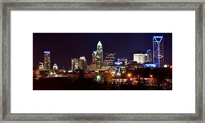 Charlotte Panoramic  Framed Print