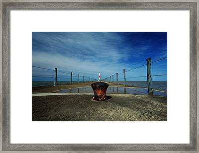 Charlotte Pier Framed Print
