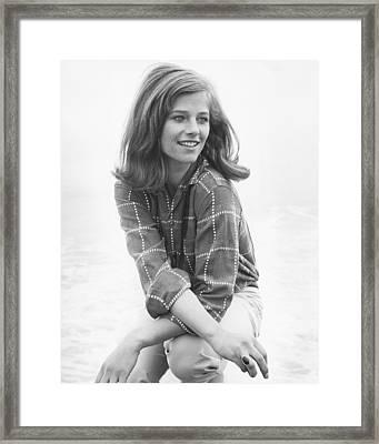 Charlotte Rampling Framed Print by Silver Screen