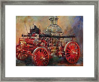 Charlotte Steamer Framed Print