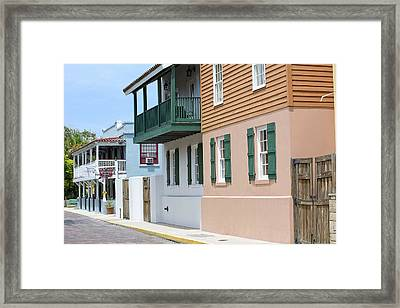 Charlotte Street Framed Print by Kenneth Albin