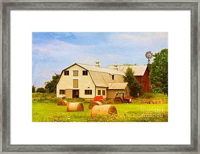 Charlotte Vermont Gem Framed Print