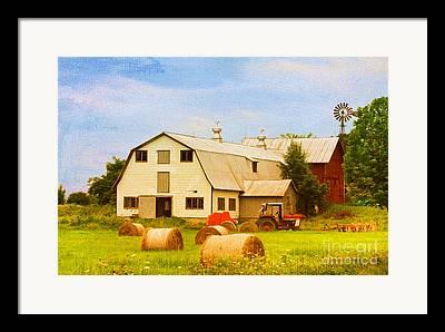 Charlotte Vermont Framed Prints