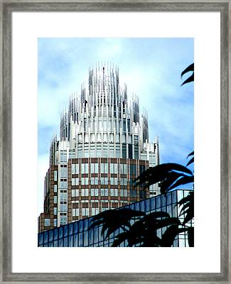 Charlottes Crown Framed Print by Randall Weidner