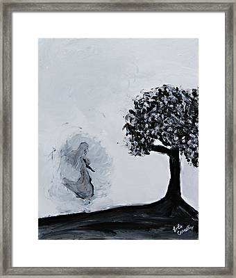 Charlotte's Grave Framed Print by Lola Connelly