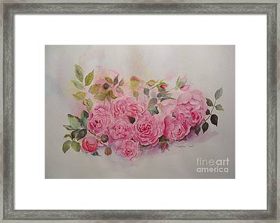 Framed Print featuring the painting Charm by Beatrice Cloake