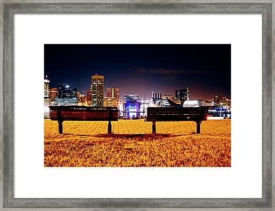 Charm City View Framed Print