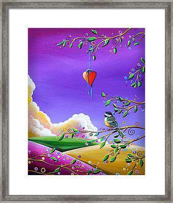 Cherish Framed Print by Cindy Thornton