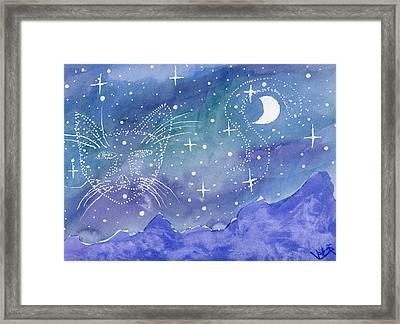 Charmed Night Framed Print