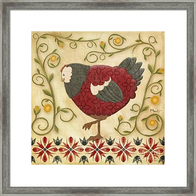 Charming Chicks 1 Framed Print by Paul Brent