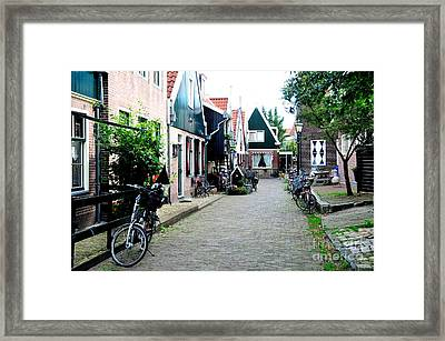 Framed Print featuring the photograph Charming Dutch Village by Joe  Ng