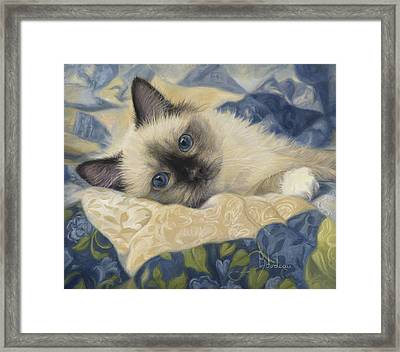 Charming Framed Print by Lucie Bilodeau