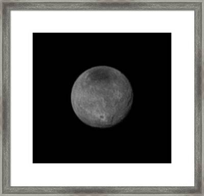 Charon Framed Print by Nasa/jhuapl/swri